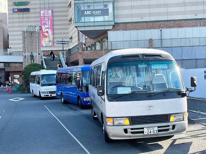 長崎駅からホテルへの無料送迎を行っております