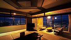 にっしょうかん新館 梅松鶴の角部屋特別室