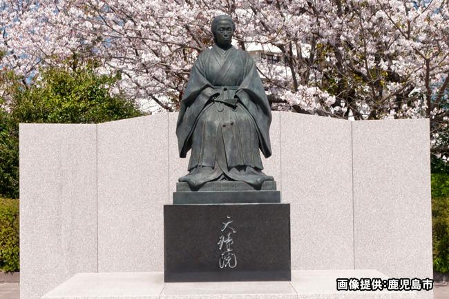天璋院篤姫像