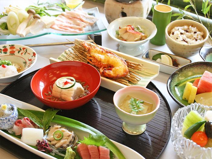 伊豆畑毛温泉 大仙家の会席料理イメージ