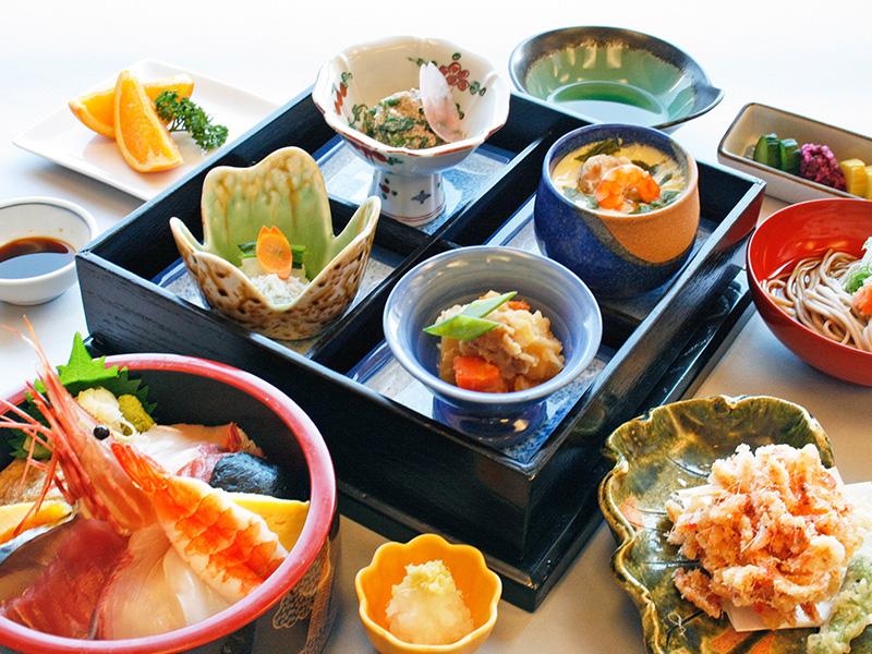 伊豆畑毛温泉 大仙家の昼食イメージ