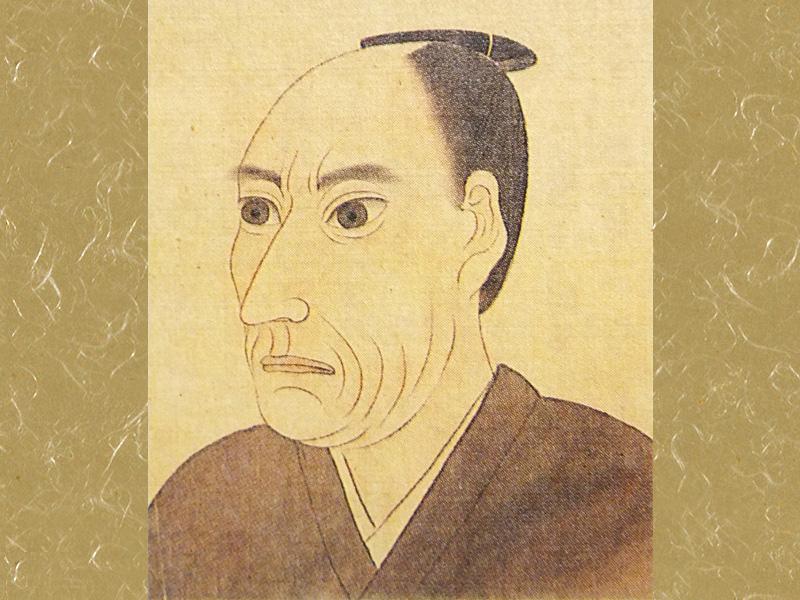 Wikipediaより引用した「江川英龍」の肖像画