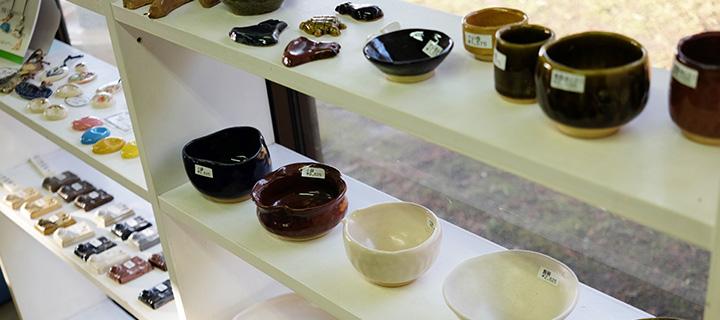 陶器のお椀