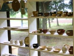 陶芸コースの作品たち