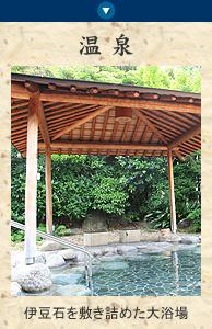 大仙家のお風呂 伊豆石を敷き詰めた大浴場