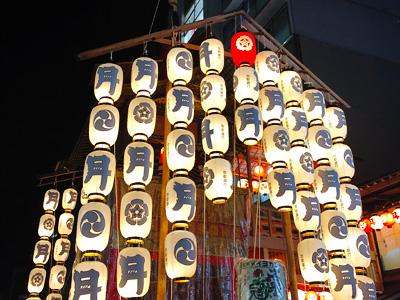 祇園祭開催中