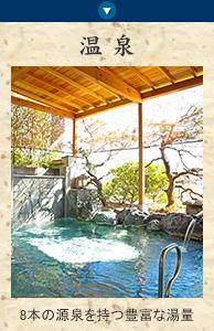 川良のお風呂 8本の源泉を持つ豊富な湯量