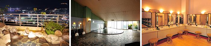 姉妹館「梅松鶴」展望&露天風呂