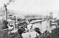 長崎造船所 ジャイアント・カンチレバークレーン