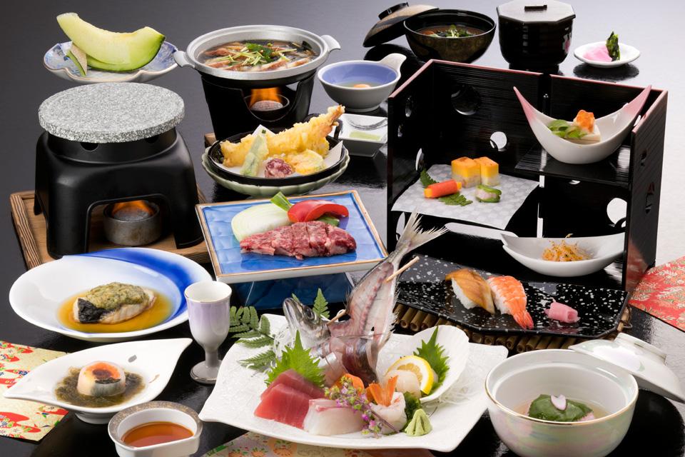 三河湾ヒルズ・ホテルの会席料理「匠美の膳」