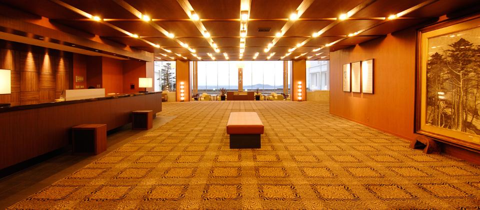 三河湾ヒルズ・ホテルのフロント