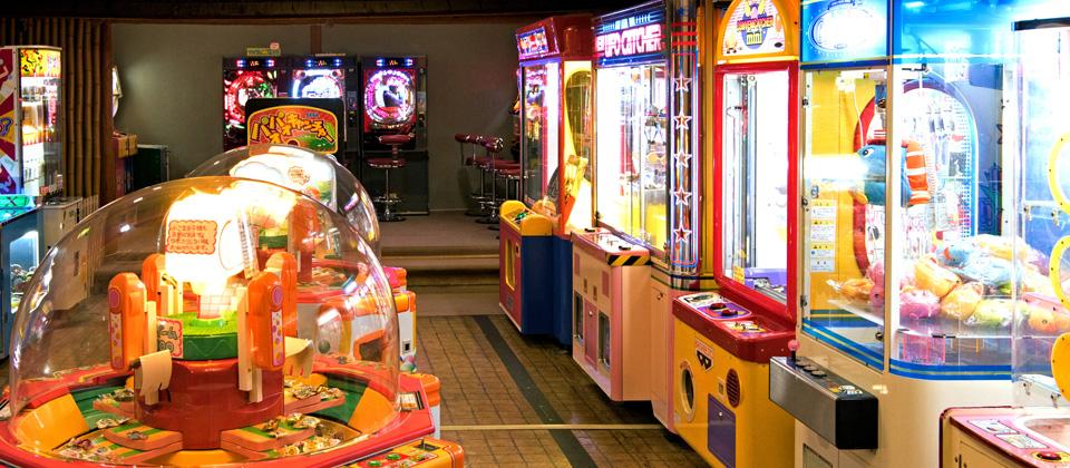 三河湾ヒルズ・ホテルのゲームコーナー