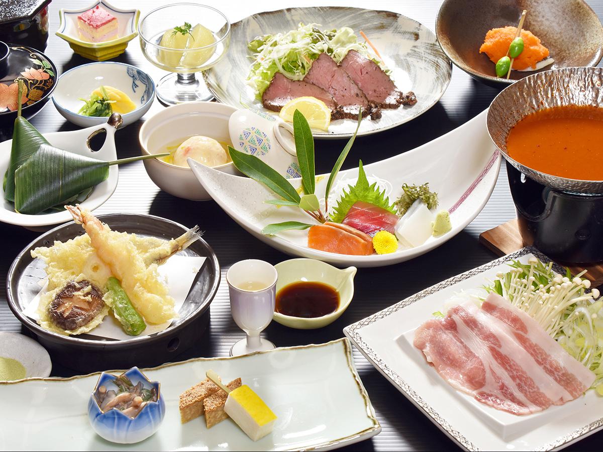三河湾ヒルズ・ホテルの会席料理「蒼海の膳」