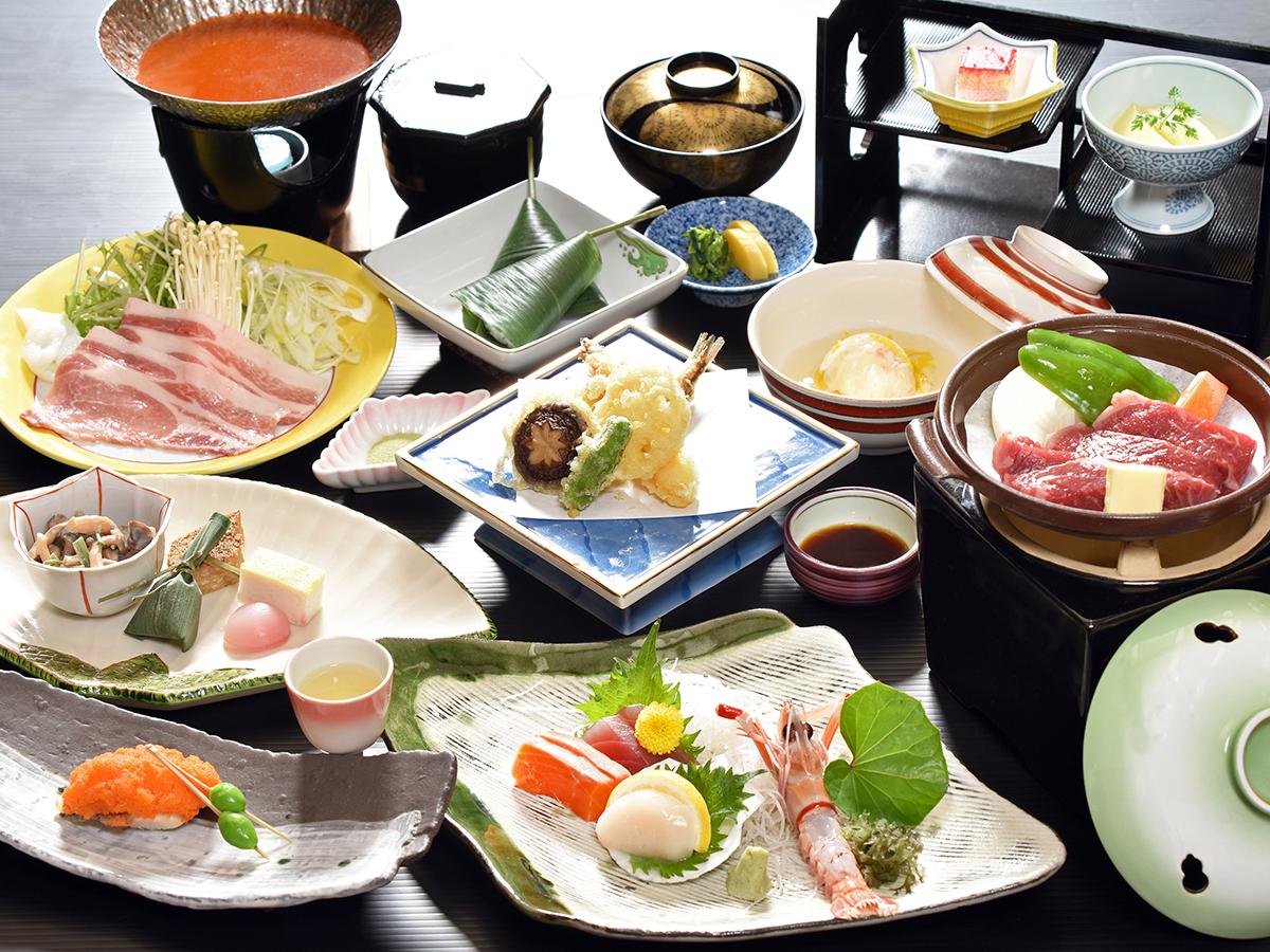 三河湾ヒルズ・ホテルの会席料理「天翔の膳」