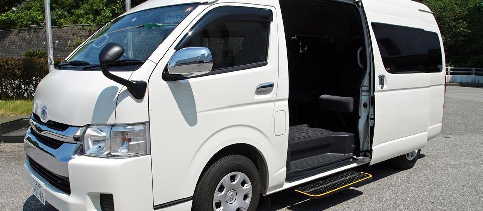 三河湾ヒルズ・ホテルの送迎バス