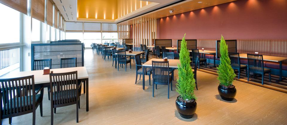 三河湾ヒルズ・ホテルのレストラン「あおい」朝