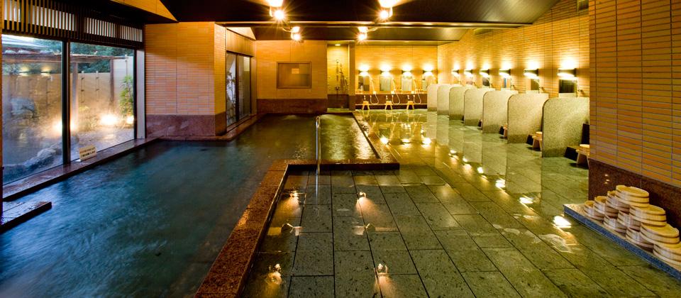 三河湾ヒルズ・ホテルの温泉「大浴場・四季彩」
