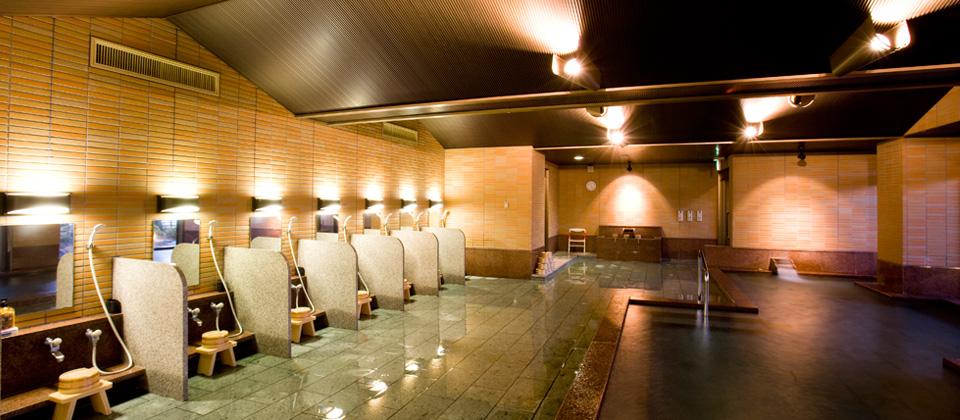 三河湾ヒルズ・ホテルの大浴場・サウナ「四季彩」