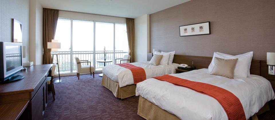 三河湾ヒルズ・ホテルの洋室ツイン(禁煙室)