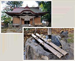 三朝神社・神の湯(飲泉場)