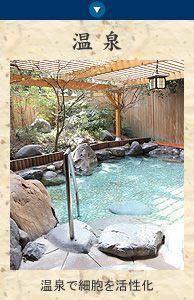 三朝ロイヤルホテル:ラジウム温泉で細胞を活性化