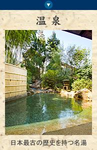 山の井の温泉 日本最古の歴史を持つ名湯