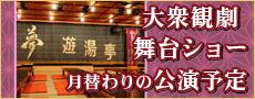 夢 遊湯亭の月替わり公演予定