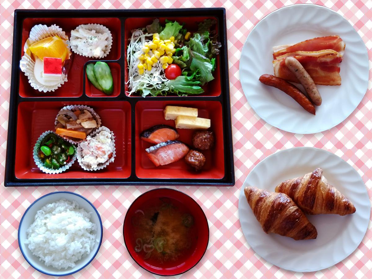 松花堂のお弁当スタイル